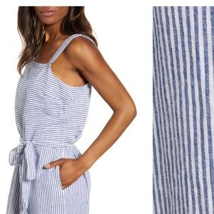 NWT Beachlunchlounge Talia Jumpsuit Sailing Color